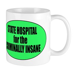 Psycho Lockup Mug