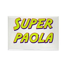 Super paola Rectangle Magnet