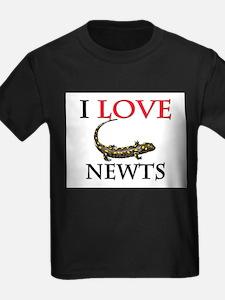 I Love Newts T