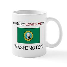 Somebody Loves Me In WASHINGTON Mug