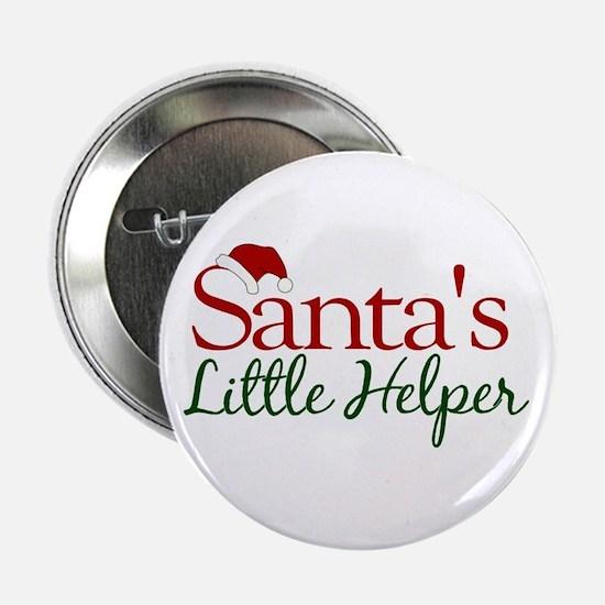 """Santa's Little Helper 2.25"""" Button"""