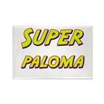 Super paloma Rectangle Magnet (10 pack)