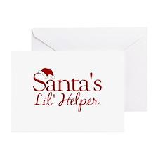 Santa's Lil Helper Greeting Cards (Pk of 20)
