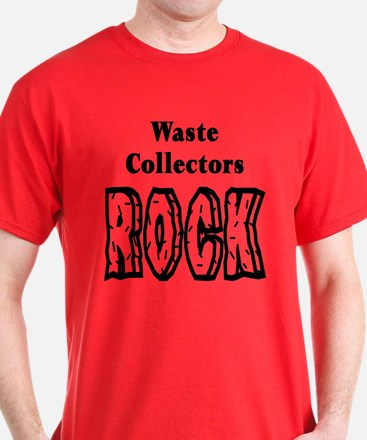 Waste Collectors Rock T-Shirt
