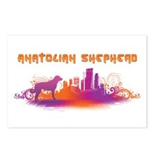 """City"" Anatolian Shepherd Postcards (Package of 8)"