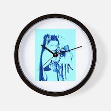 Blue Dawn Wall Clock