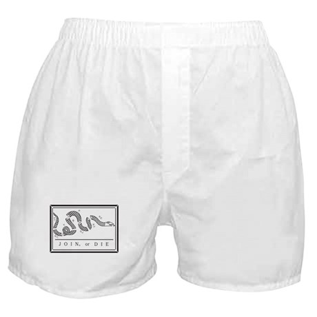 Join or Die Flag Boxer Shorts