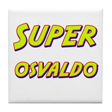 Super osvaldo Tile Coaster