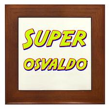Super osvaldo Framed Tile