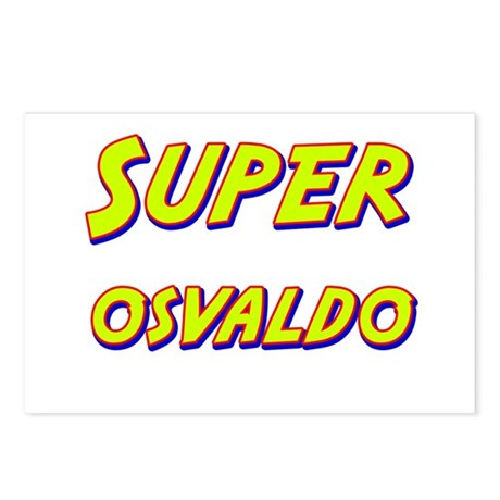 Super osvaldo Postcards (Package of 8)