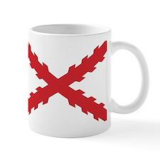 Cross of Burgundy Small Small Mug