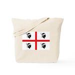 Sardinia Flag Tote Bag