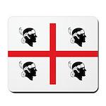 Sardinia Flag Mousepad
