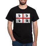 Sardinia Flag Dark T-Shirt