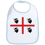 Sardinia Flag Bib