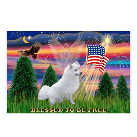 Blessed / Eskimo Spitz Postcards (Package of 8)