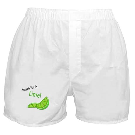 Reach For A Lime Boxer Shorts