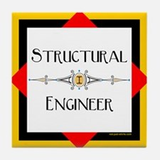 Structural Engineer Tile Coaster
