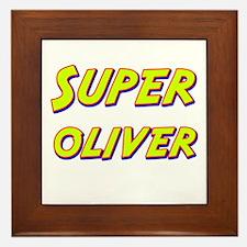 Super oliver Framed Tile
