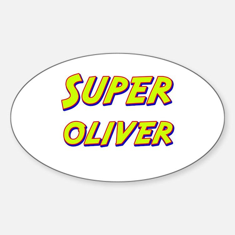 Super oliver Oval Decal
