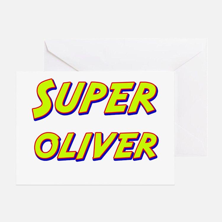 Super oliver Greeting Card