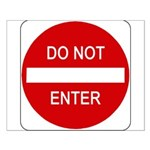 Do Not Enter Sign - Small Poster