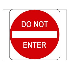 Do Not Enter Sign - Posters