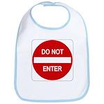 Do Not Enter Sign - Bib