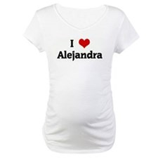 I Love Alejandra Shirt