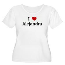 I Love Alejandra T-Shirt
