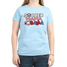 Soccer Mama for Obama T-Shirt