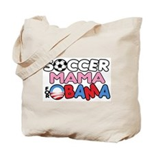 Soccer Mama for Obama Tote Bag