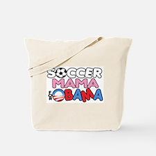 Soccer Mama for Obama Tote Bag