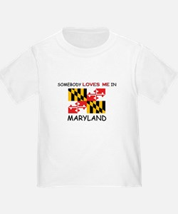 Somebody Loves Me In MARYLAND T