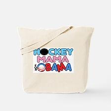 Hockey Mama for Obama Tote Bag