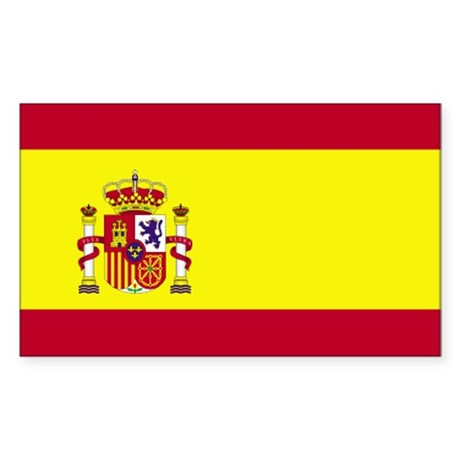 Spain Rectangle Sticker
