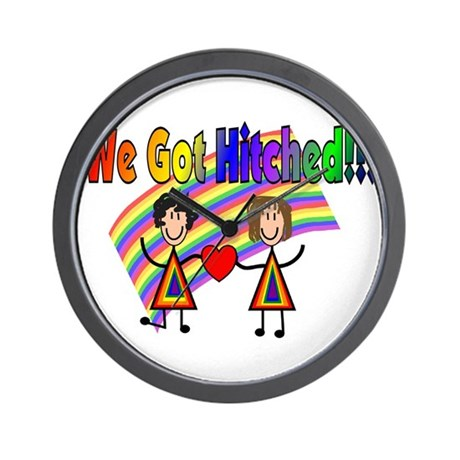 Gay Lesbian Wall Clock