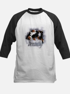 Dreamin Pup Kids Baseball Jersey