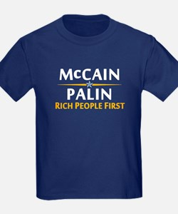 Rich People First T