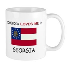Somebody Loves Me In GEORGIA Mug