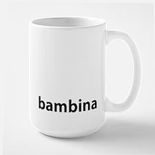 BAMBINA Large Mug