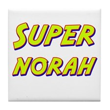 Super norah Tile Coaster