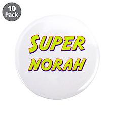 "Super norah 3.5"" Button (10 pack)"