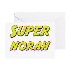 Super norah Greeting Card