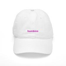 BAMBINA PINK Baseball Cap