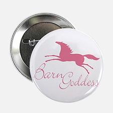 """Barn Goddess Mare 2.25"""" Button"""