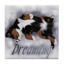 Dreamin Pup Tile Coaster