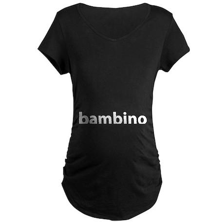 BAMBINO Maternity Dark T-Shirt