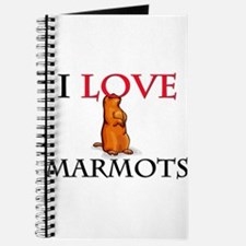 I Love Marmots Journal