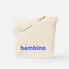 BAMBINO BABY BLUE Tote Bag